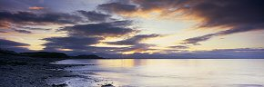 dawn clouds at criccieth