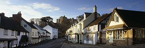 morning at dunster