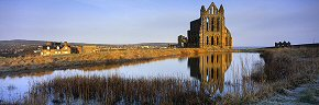 reflections at whitby abbey