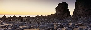 rockforms at sandymouth