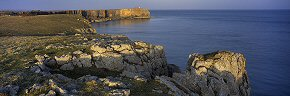 rocks at st govan's head