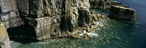 sea cave at st govan's head