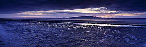 mudflats on the solway firth