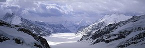 breaking cloud, aletsch glacier
