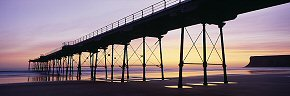 dawn colours at saltburn
