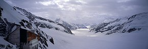 jungfraujoch and the aletsch glacier