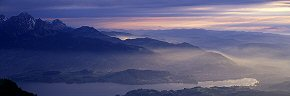 light on pilatus slopes, lucerne