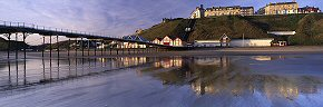tidal mirror at saltburn