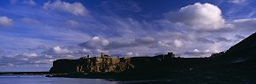 clouds above tynemouth priory