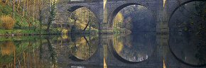 mirror image, prebends bridge