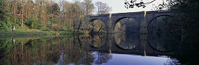prebends bridge and reflections, durham