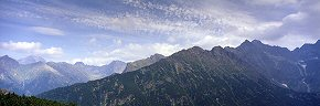 skies above rysy and the high tatras