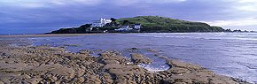 burgh island and tides, bigbury