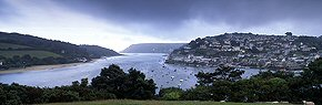 clouds above salcombe