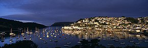first light on salcombe