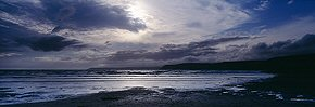 light in the clouds, bigbury bay