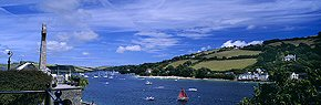 salcombe harbour in summer