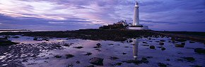 twilight hues at st mary's lighthouse