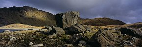erratic at llyn llydaw