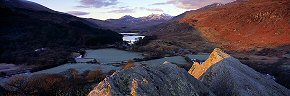 first light at capel curig