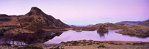llyn cregennan after dusk