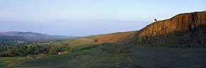evening light on holwick scar - du0091
