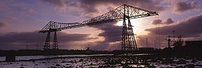 Sundown, transporter bridge 2