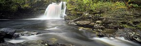 cascades at the falls of falloch 2
