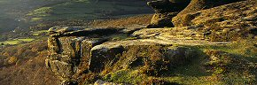 golden rocks, curbar edge