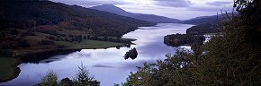 loch tummel and schiehallion