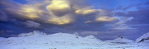 luminous clouds, stac pollaidh