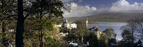 winter sunshine at portmeirion 2