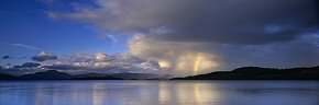 rainbow, loch lomond