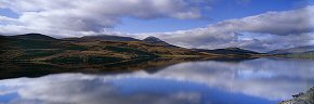 reflections on loch a' chuilinn