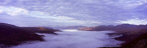 sea of cloud, loch katrine