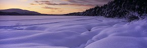 snow pillows, loch morlich