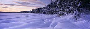 snow pillows, loch morlich 2