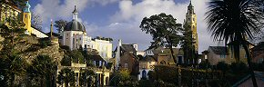 spires of portmeirion