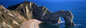 Afternoon sun, Durdle Door