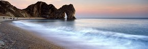 Durdle Door at twilight