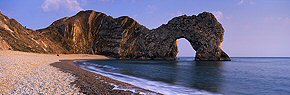 lazy evening, durdle door