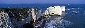 old harry rocks and clipper, swanage