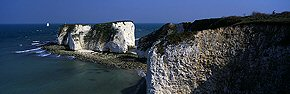 old harry rocks, handfast point