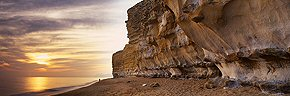 sculpted cliffs, burton bradstock (warm)