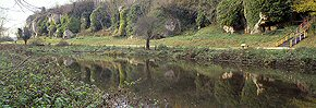 reflections, creswell crags 2